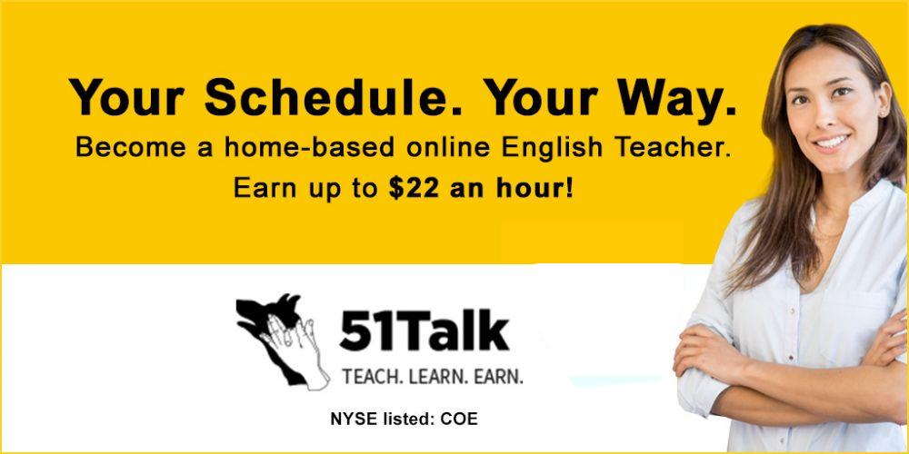 51Talk - banner