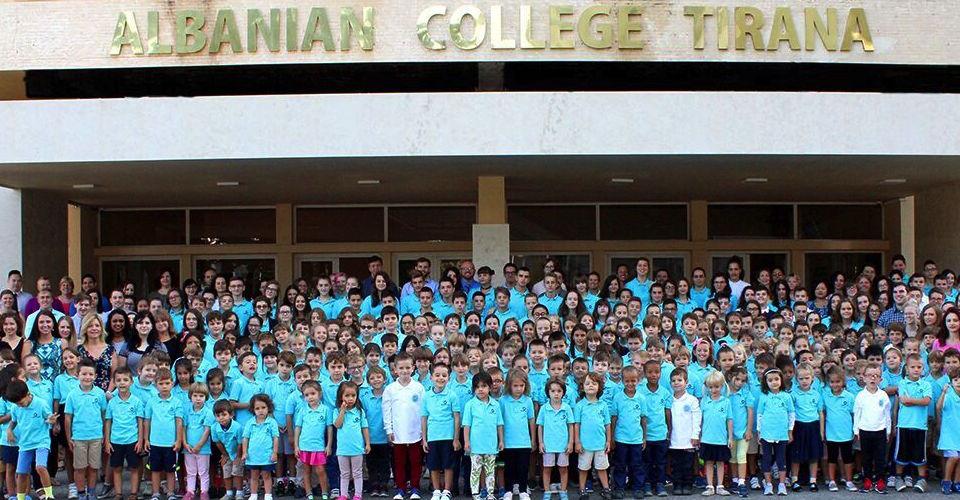 Albanian College Tirana - banner